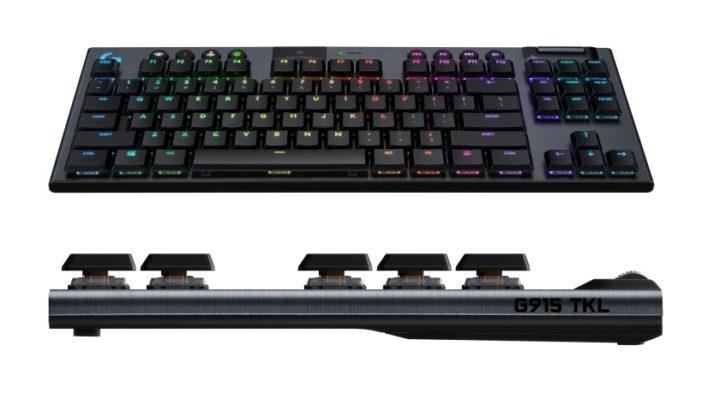 Mechanická herní klávesnice bez numerického bloku