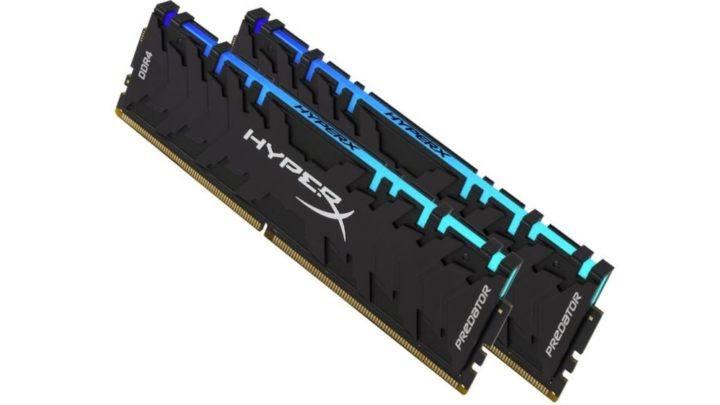 Nové varianty pamětí Predator DDR4 RGB a FURY DDR4 RGB