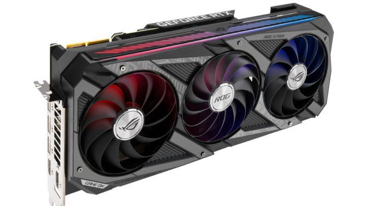 Řada grafických karet ROG Strix GeForce RTX 30