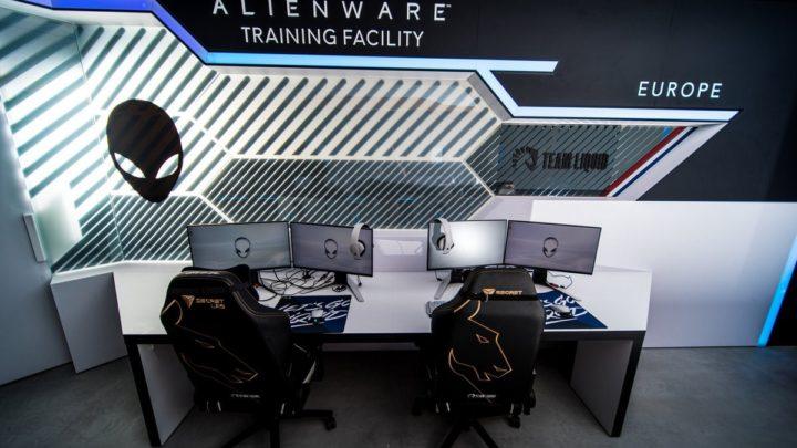 Esportový tým Liquid otevírá nové tréninkové centrum Alienware