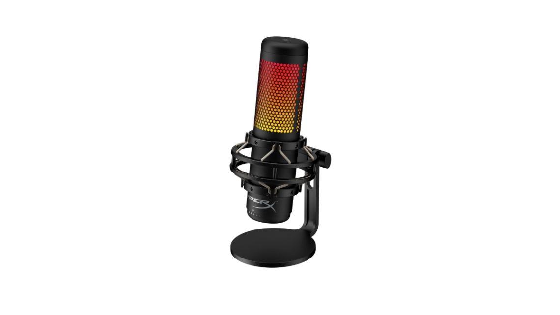 USB mikrofon s dynamickým nastavitelným RGB podsvícením QuadCast S