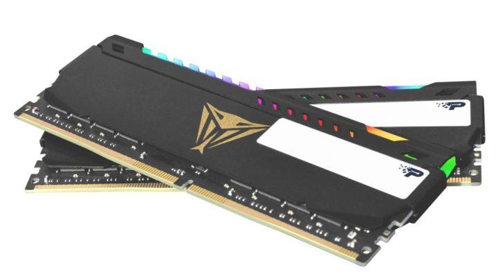 Vysokokapacitní paměťové moduly a sady VIPER STEEL RGB